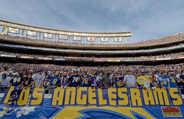 Jogos da NFL em Los Angeles