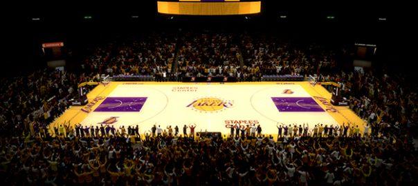 Estádio da NBA em Los Angeles