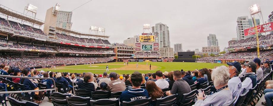 Estádio de beisebol em San Diego