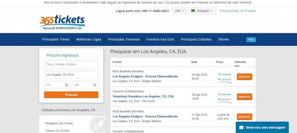 Ingressos mais baratos para jogos de beisebol em San Diego