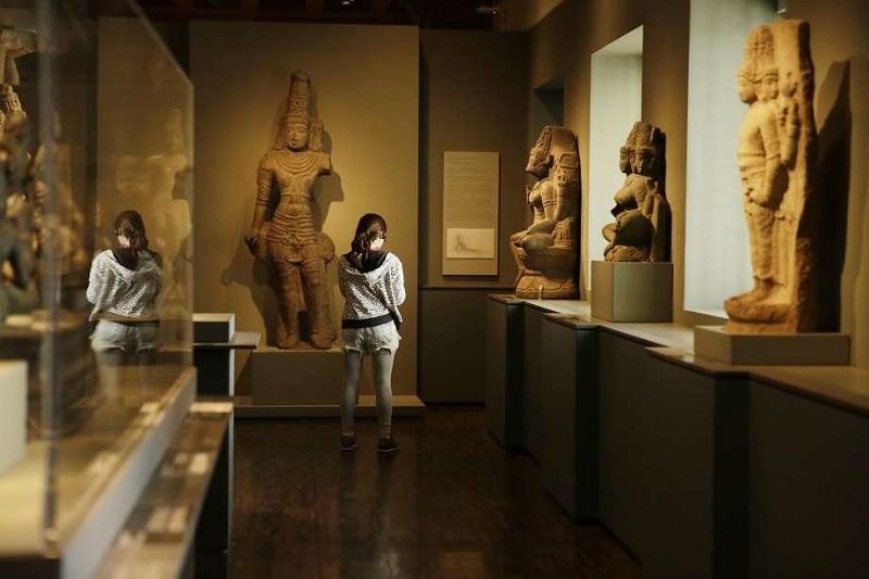 Passeio pelo museu Asian Art Museum of San Francisco
