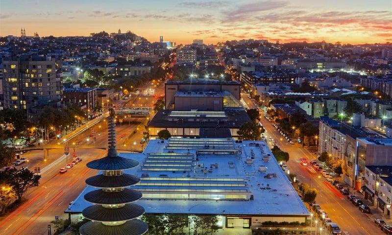 Atrativos em Japan Town em San Francisco