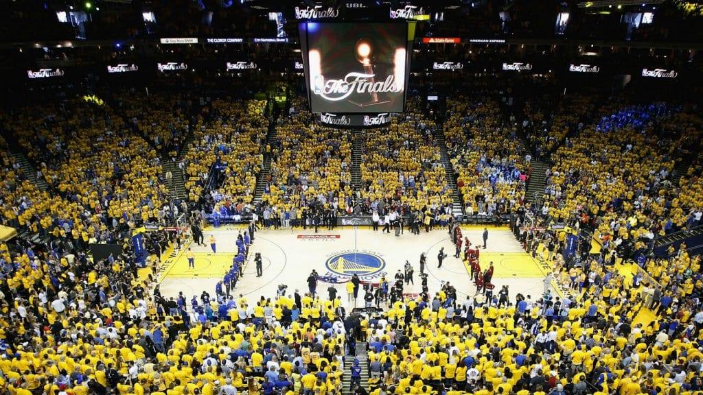 Estádio para assistir os jogos do Golden State Warriors e NBA em San Francisco