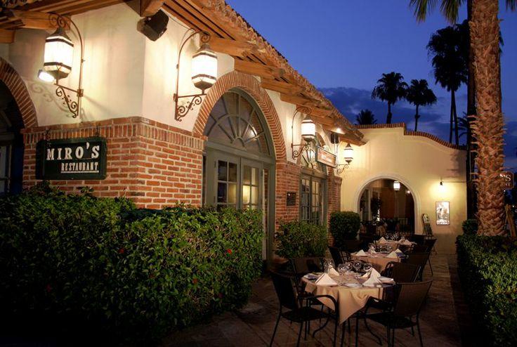 Restaurante Miro's Restaurant in Palm Springs
