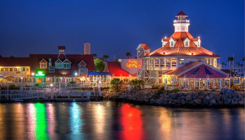 Restaurante Parkers' Lighthouse em Long Beach