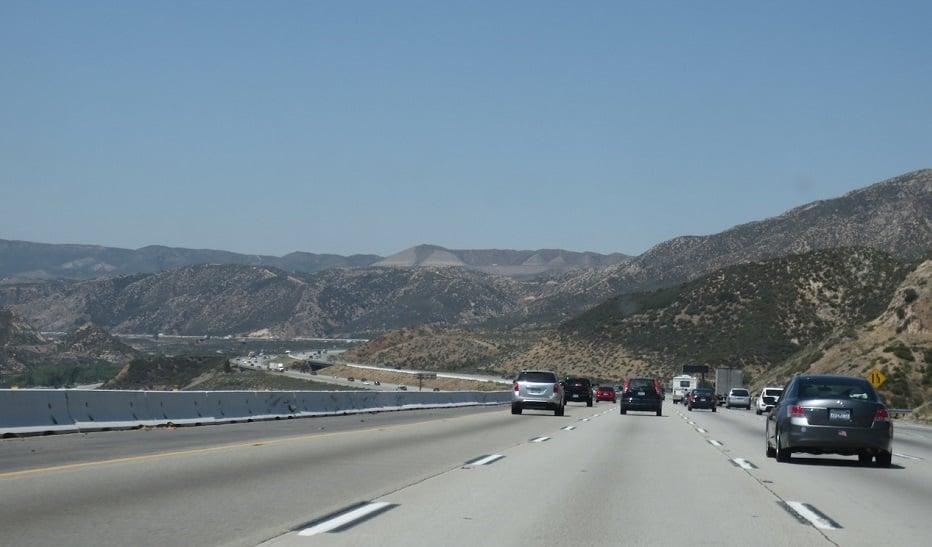 Dirigir no Grand Canyon e na Califórnia