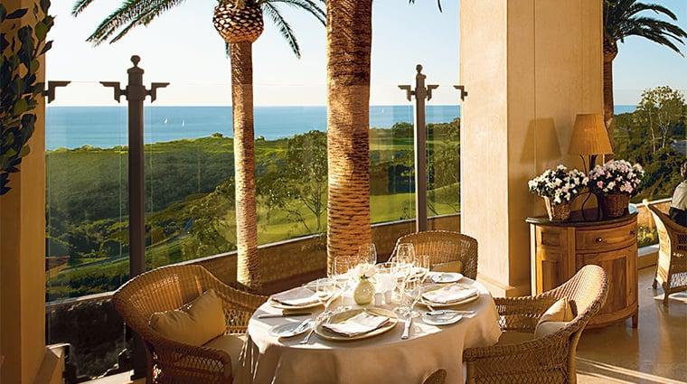 Restaurante Andrea at Pelican Hill em Newport Beach