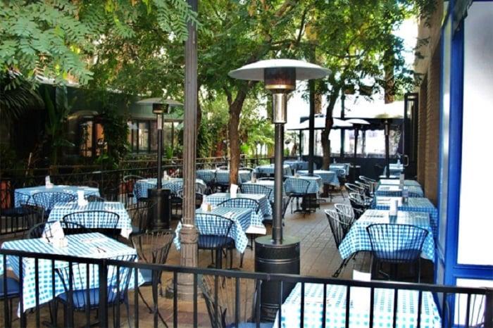 Restaurante George's Greek Cafe em Long Beach