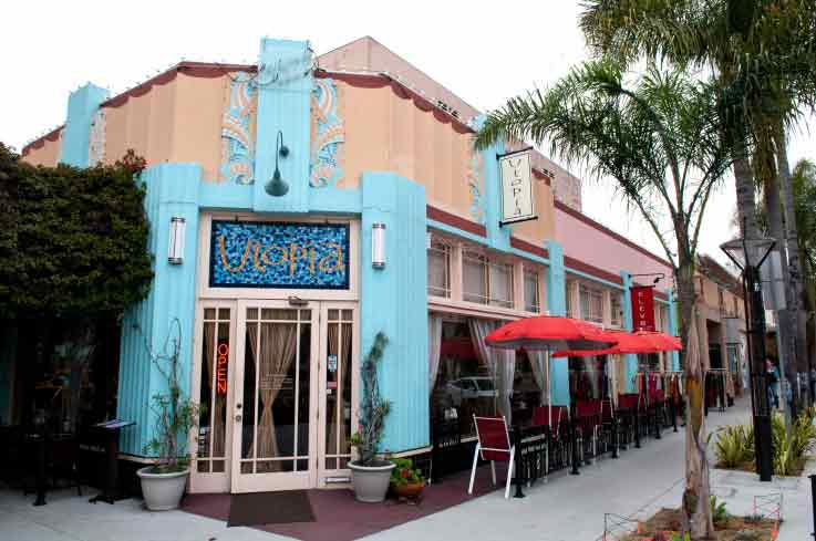 Restaurante Utopia em Long Beach