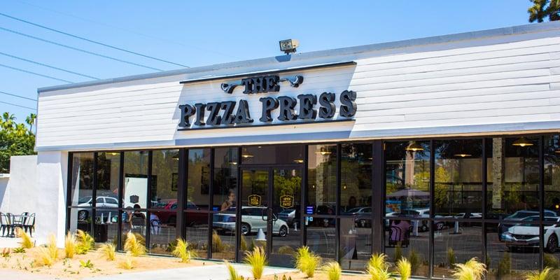 Restaurante The Pizza Press em Anaheim