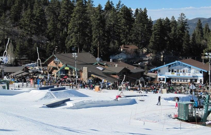 Restaurantes em Big Bear Mountain