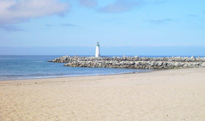 Praia Santa Cruz Harbor Beach em Santa Cruz
