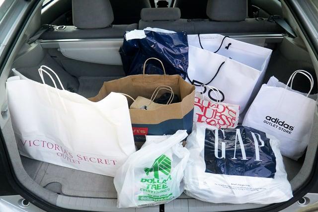 Compras em Anaheim e na Califórnia