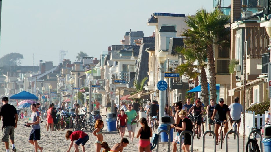 Compras em Newport Beach
