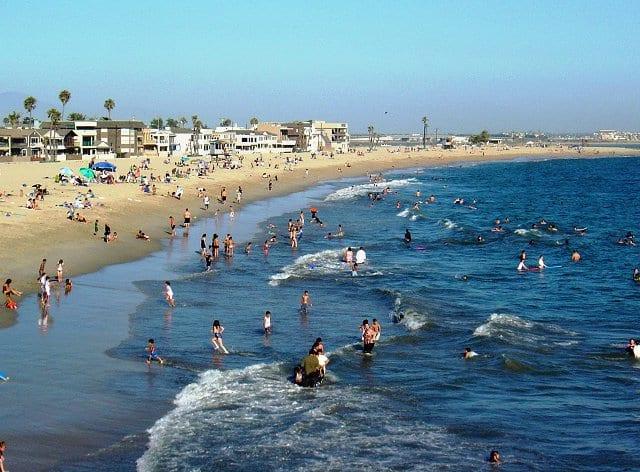 Praias nas proximidades de Anaheim