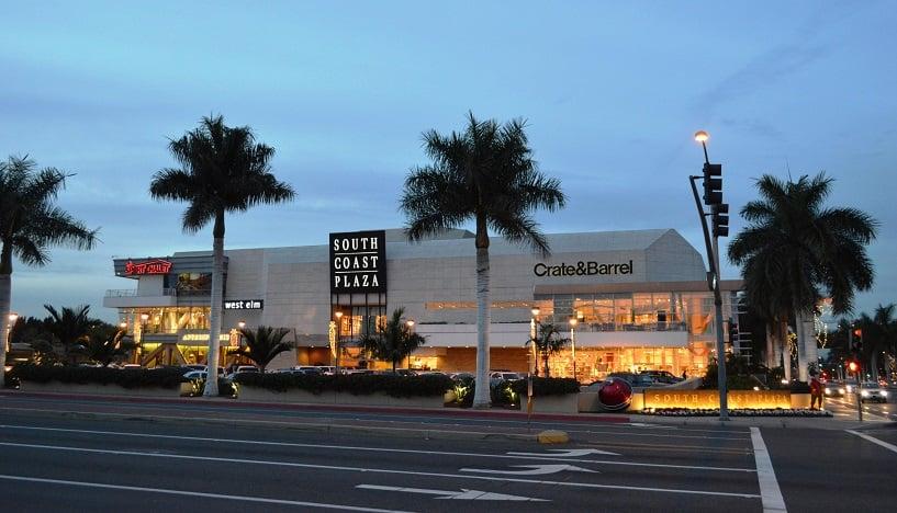 Compras no South Coast Plaza em Anaheim