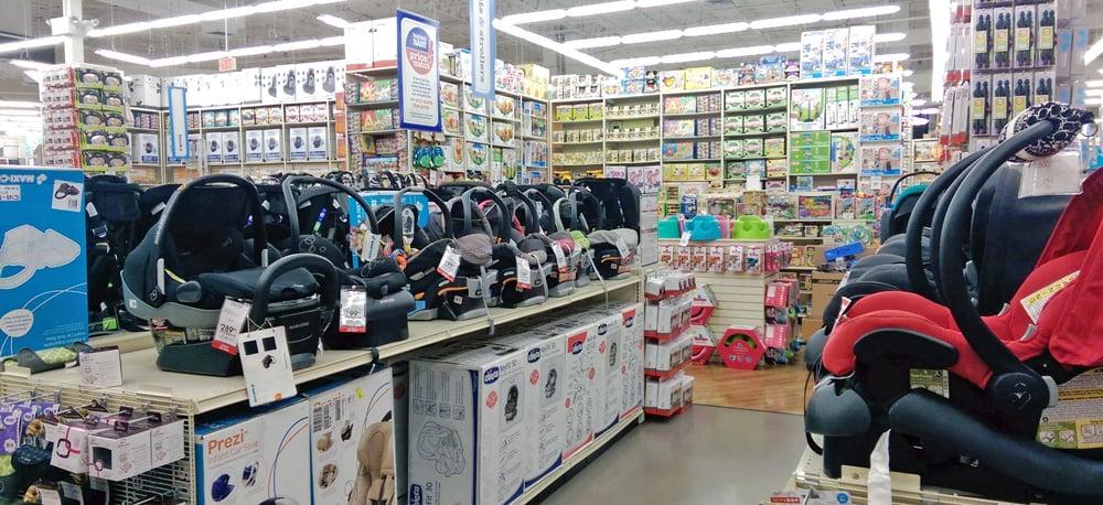 Lojas para o enxoval do bebe na Califórnia
