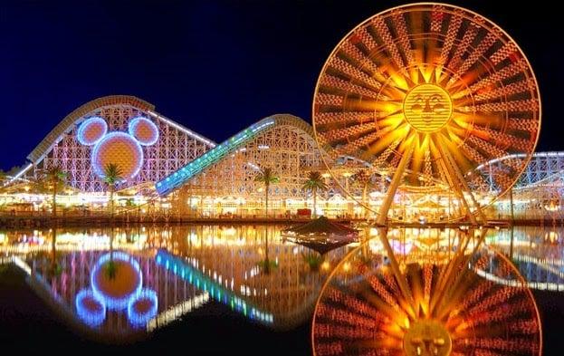 Principais parques de diversões da Califórnia