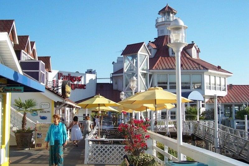 Compras no Shoreline Village em Long Beach
