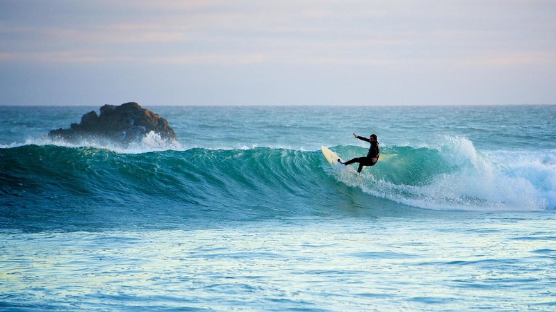 Praia The Surfrider em Malibu