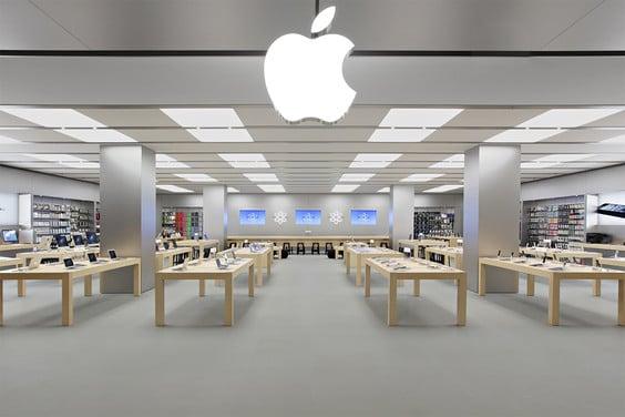 Loja da Apple para a compra de iPhone 8 em San Diego