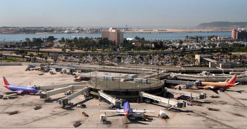 Aeroporto na Califórnia