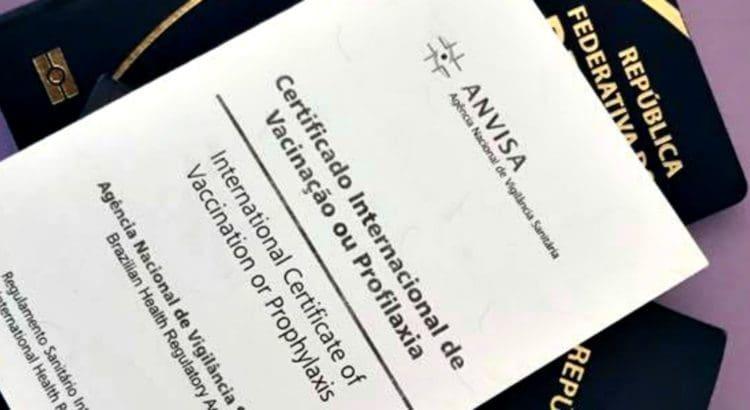 Certificado de vacinação internacional para entrar em Los Angeles