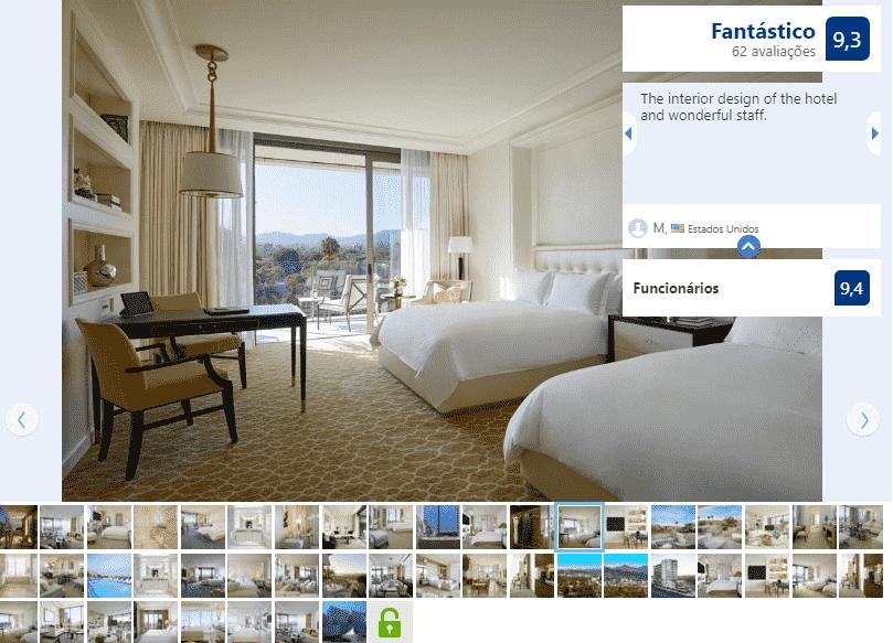 Hotel Waldorf Astoria Beverlly Hills em Santa Mônica na Califórnia