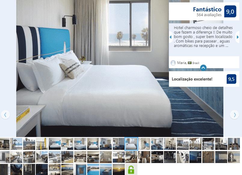 Kimpton Shorebreack Hotel para ficar em Huntington Beach