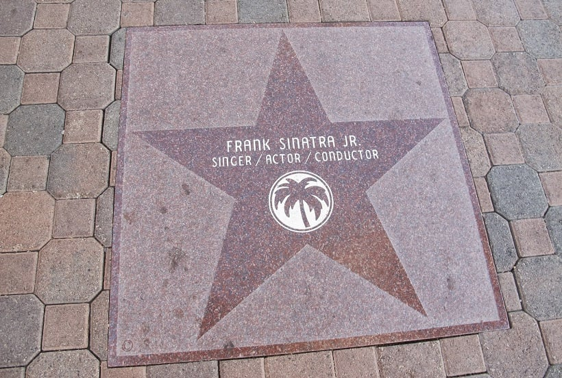 Calçada da Fama em Palm Springs