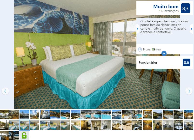 Hotel Carmel Mission Inn & Fuse Lounge Café para ficar em Carmel-by-the-Sea