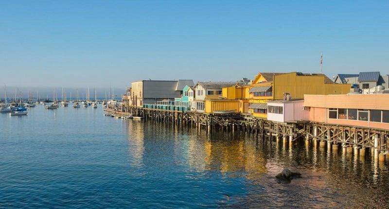 Pontos turísticos em Monterey