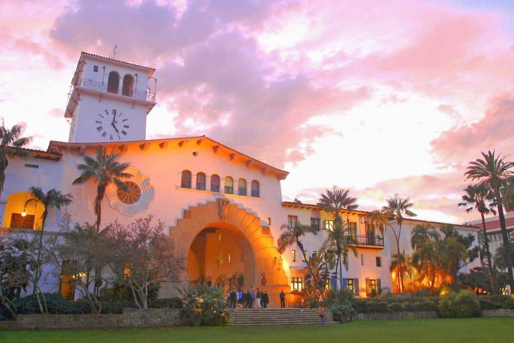 Santa Bárbara Courthouse em Santa Bárbara
