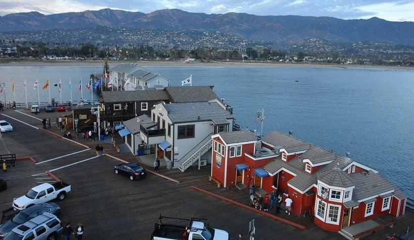 Stearns Wharf em Santa Bárbara