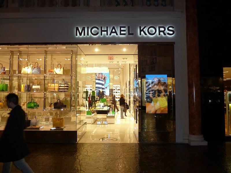Compras de luxo em Las Vegas