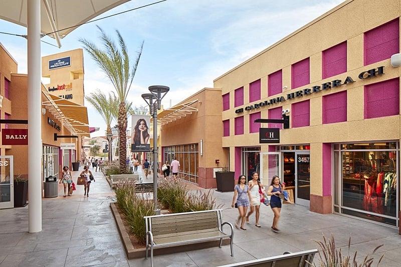 Compras nos outlets de Las Vegas
