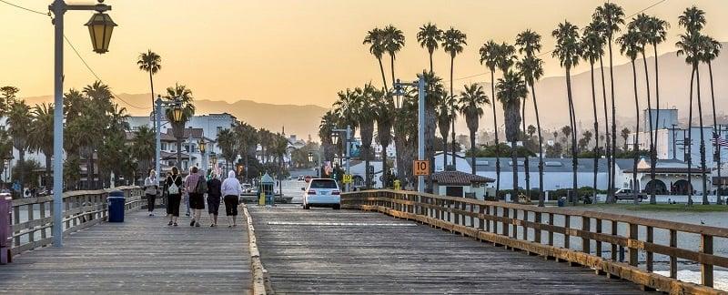 Pier de Santa Bárbara - Califórnia