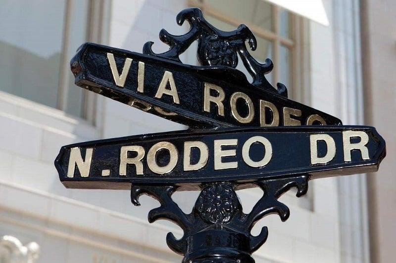 Compras na Via Rodeo em Beverly Hills