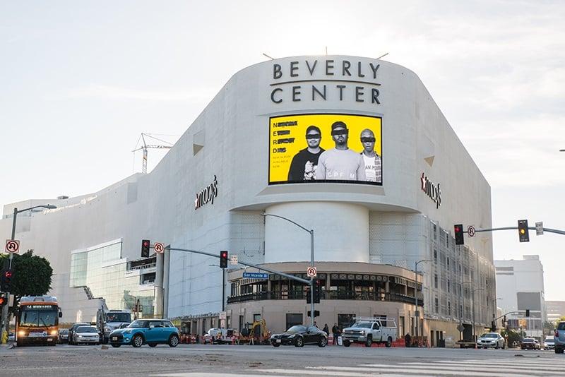 Ponto turístico Beverly Center em Beverly Hills