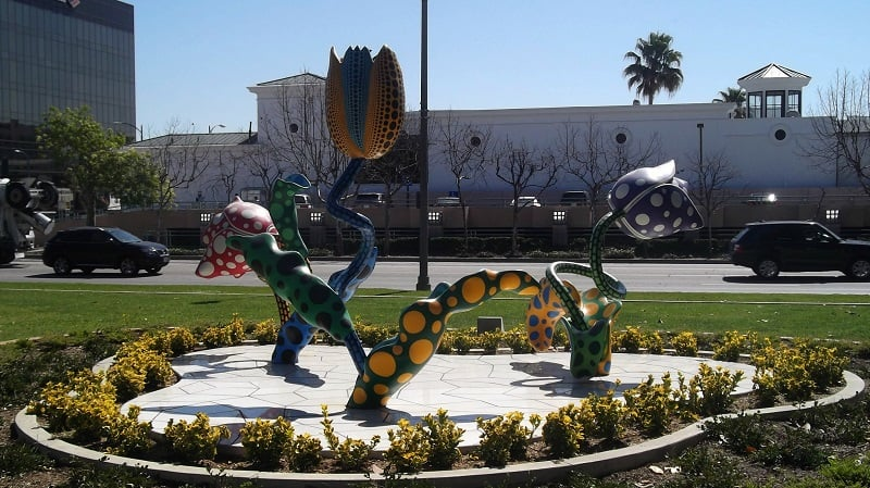 Ponto turístico Beverly Garden Park em Beverly Hills