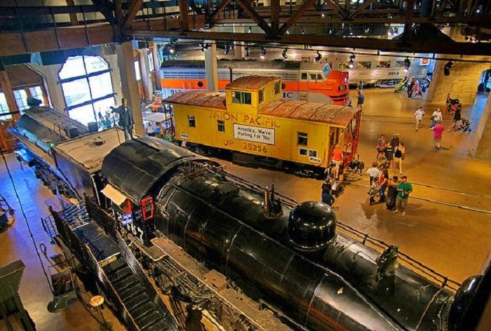 Ponto turístico Califórnia State Railroad em Sacramento