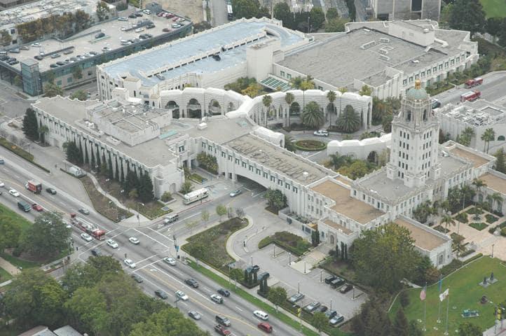 Tour pelo Civic Center em Beverly Hiils