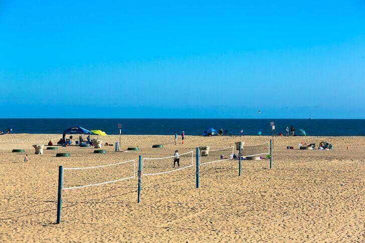 Praia em Huntington Beach