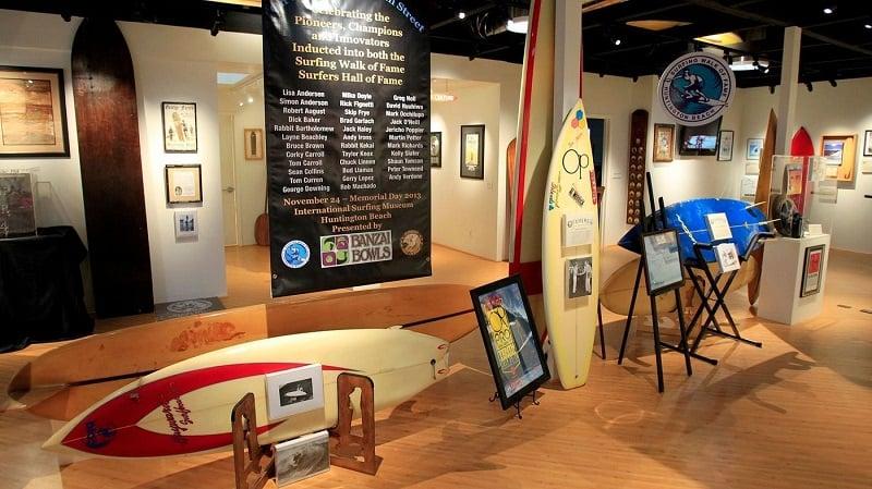 Ponto turístico International Surfing Museum em Huntington Beach