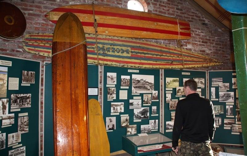 Visita ao Museu do Surfe em Santa Cruz