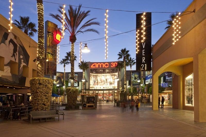 Outlets At Orange nas proximidades de Anaheim