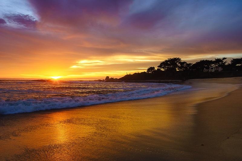 Praia de Carmel-by-the-Sea