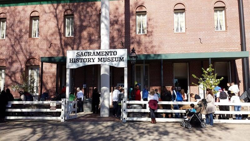Ponto turístico Sacramento History Museum em Sacramento