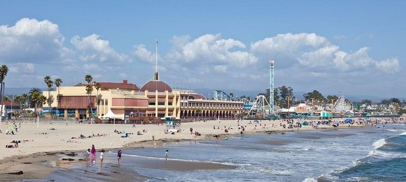 Pontos turísticos em Santa Cruz