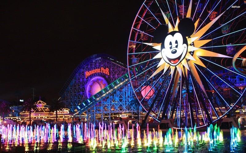 Conhecer o Califórnia Adventure Park com criança em Anaheim